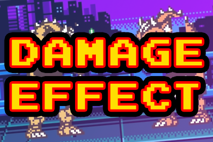 Retro damage effect